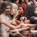 The Darkness Justin fra la folla