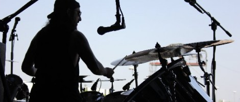 Mike Portnoy @ Gods Of Metal 2012
