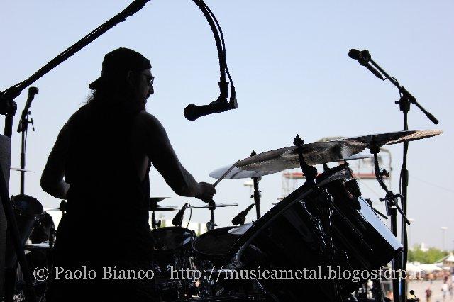 Mike Portnoy @ Gods Of Metal 2012